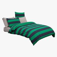 bed 3D models