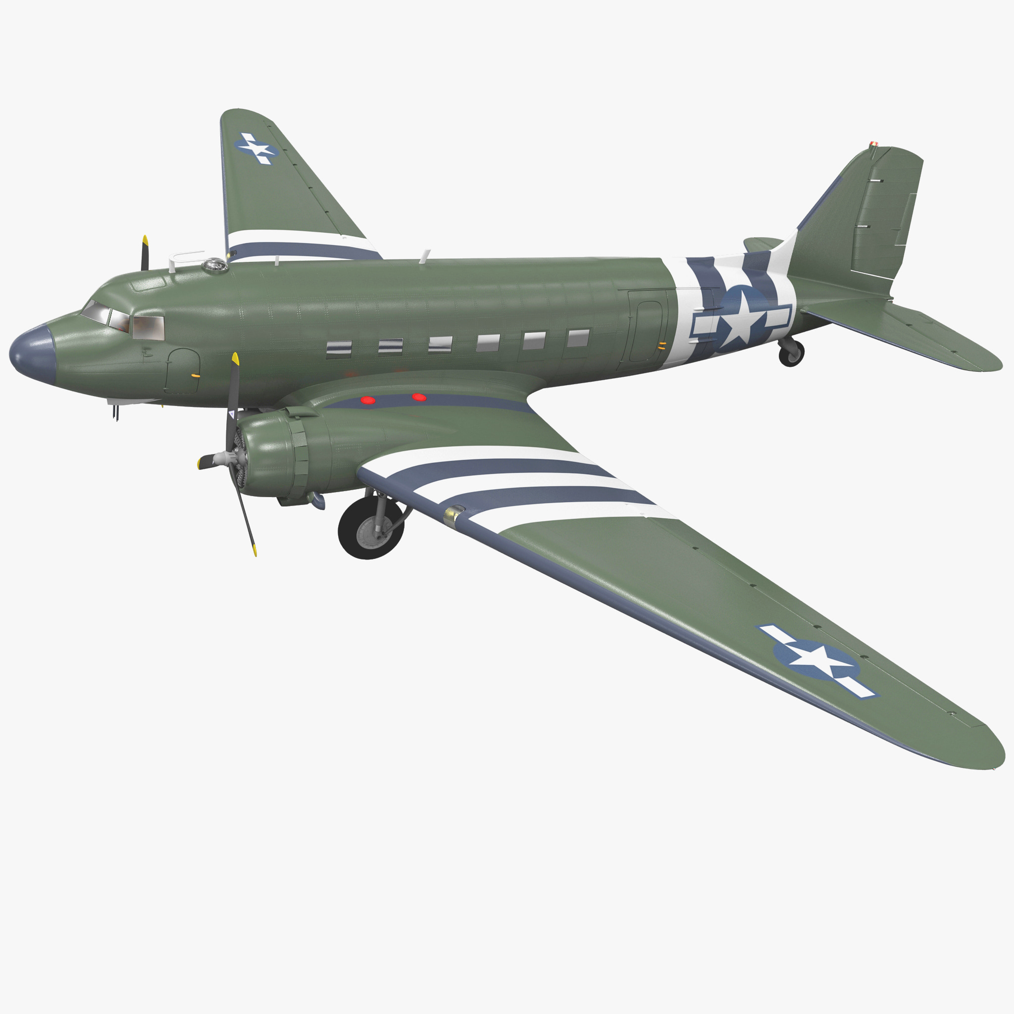 Military Transport Aircraft Douglas C-47 Skytrain_1.jpg