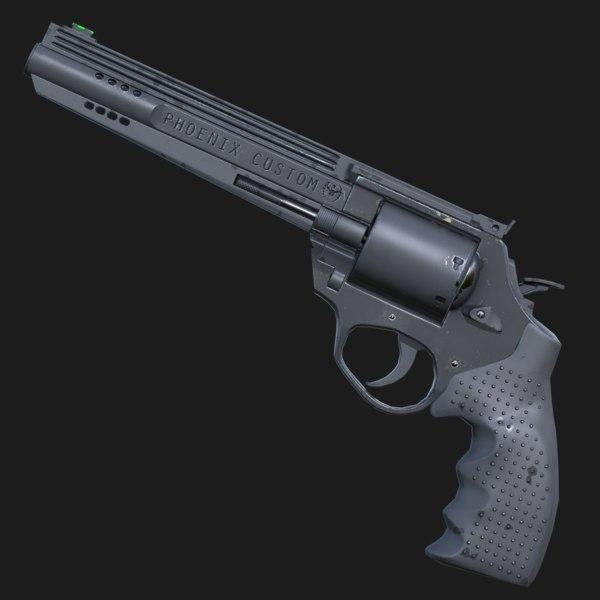 Phoenix Revolver 3D Models