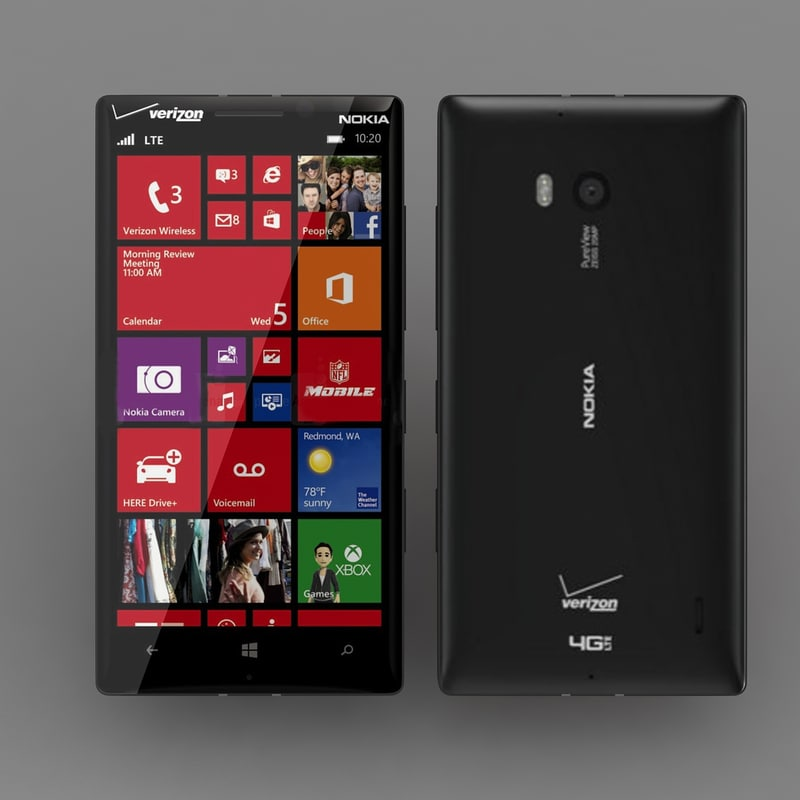 Lumia Icon Black