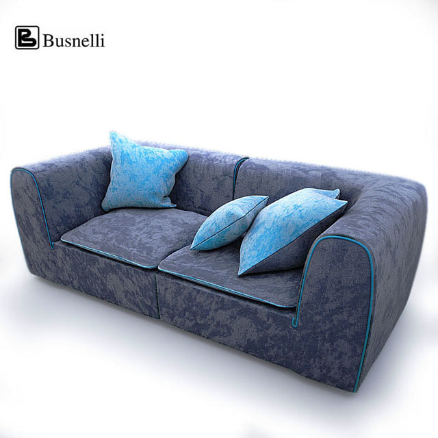busnelli igloo sofa 3d 3ds