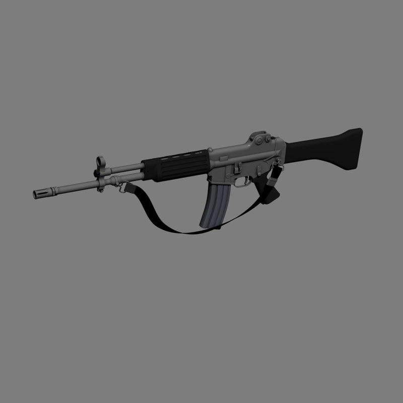 k2 Rifle Assemble Animated