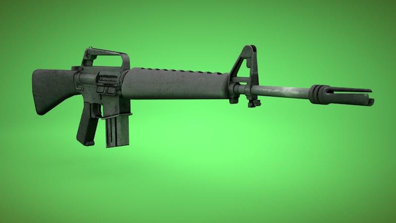 M16A1 Vietnam Style