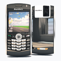 BlackBerry 8 Series 3D models