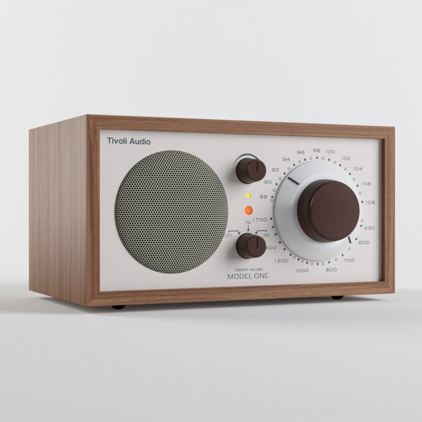 Tivoli Audio Model One 3D Models