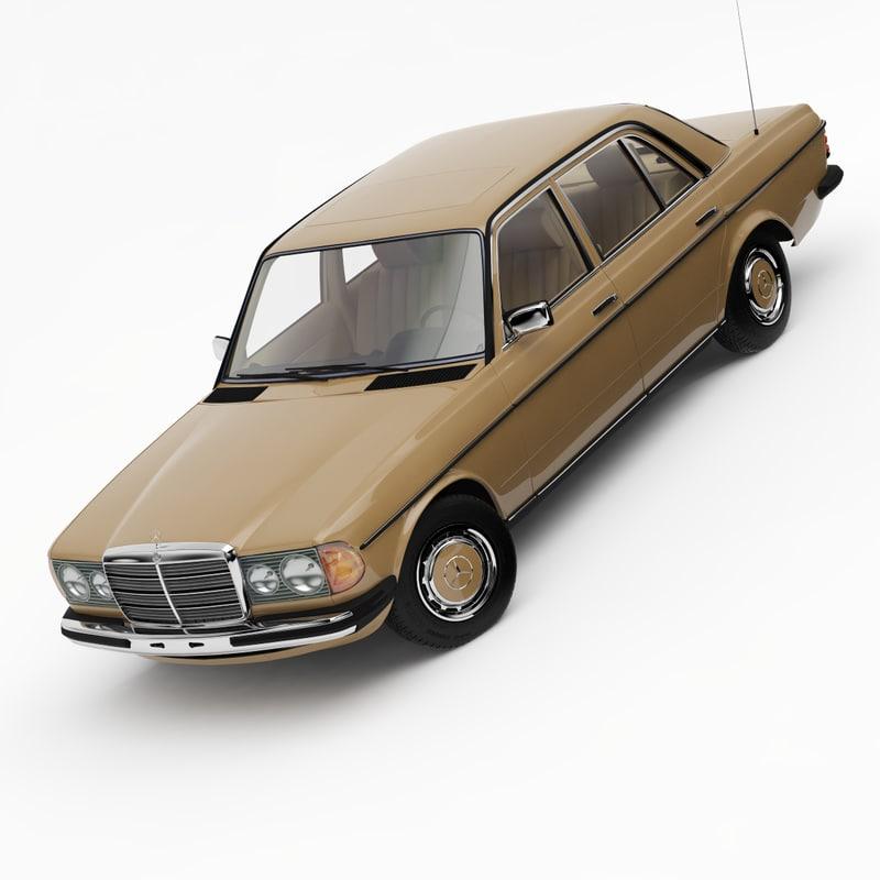 Mercedes-Benz W123 Saloon 1976-85