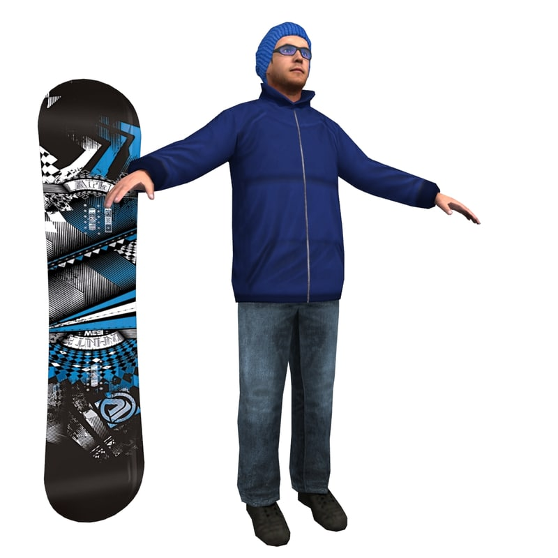 Snowboarder LP 2