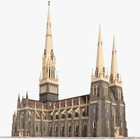 St. Patrick's 3D models