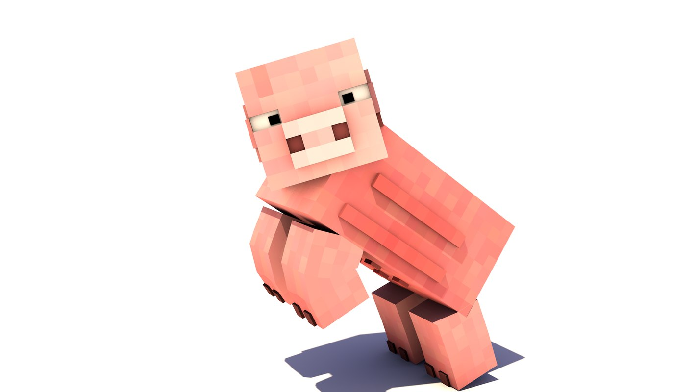 Minecraft Pig Rigged also 3d Model Minecraft Pig Rigged furthermore 0f863ccd 22c4 46bc B1bd F38aff0ded1e likewise Mine Imator Rigs furthermore Minecraft Blender Rig. on minecraft pig rigged