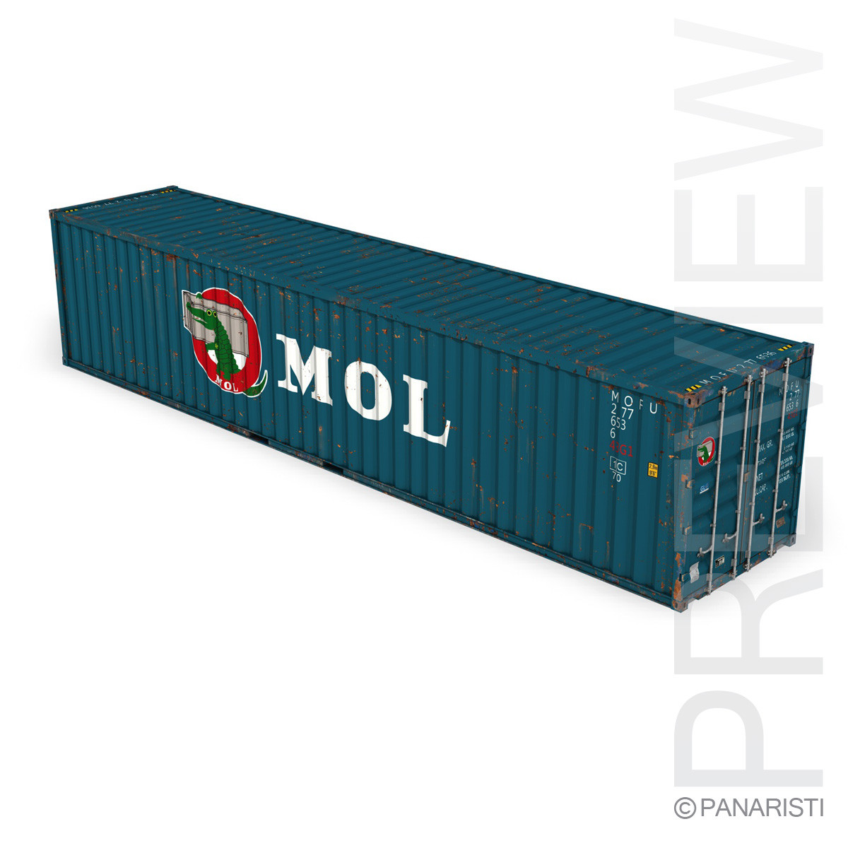 40ft Shipping Container - MOL