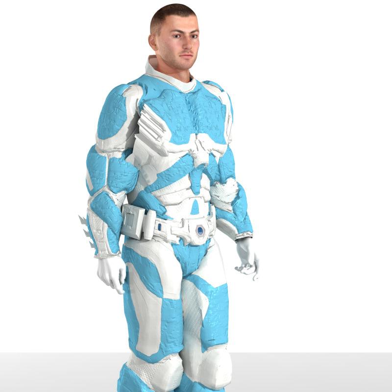MDL Armor (M4) (for Poser)