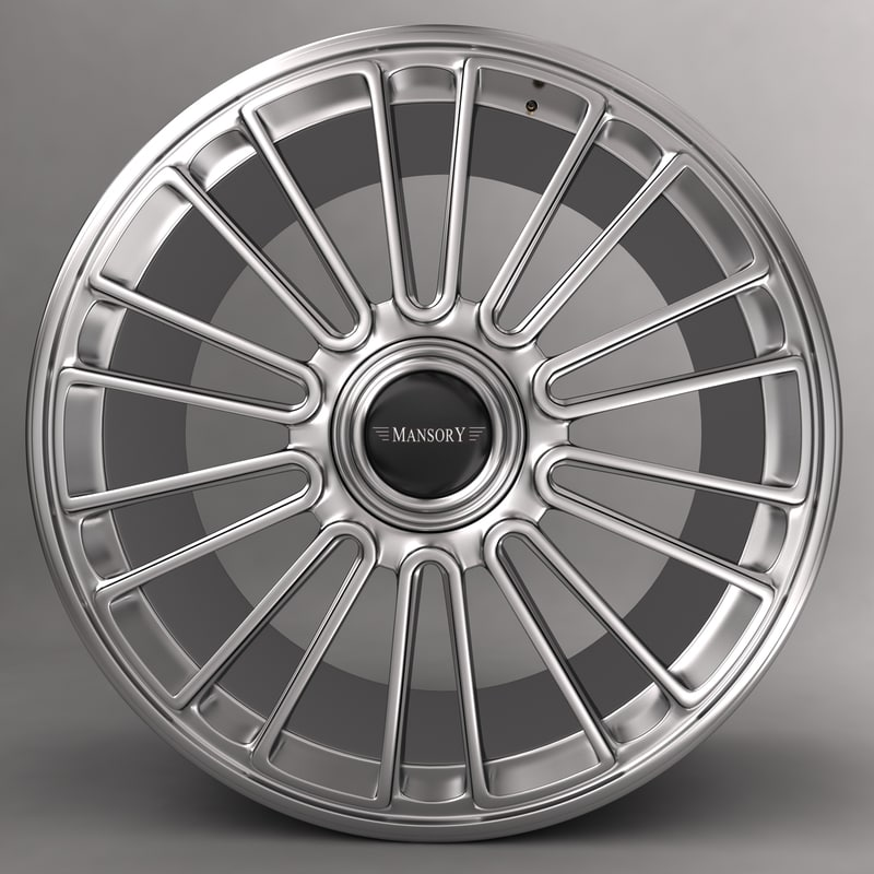 Mansory R 22 alloy wheel with logo
