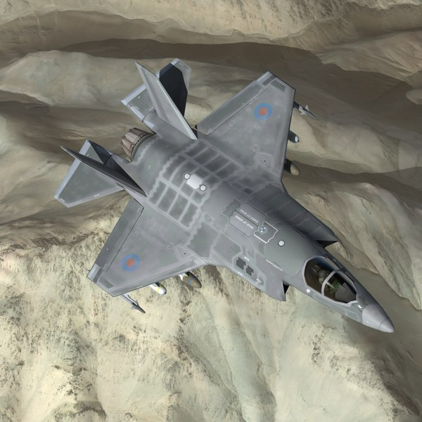 F35B LightningII RN 3D Models