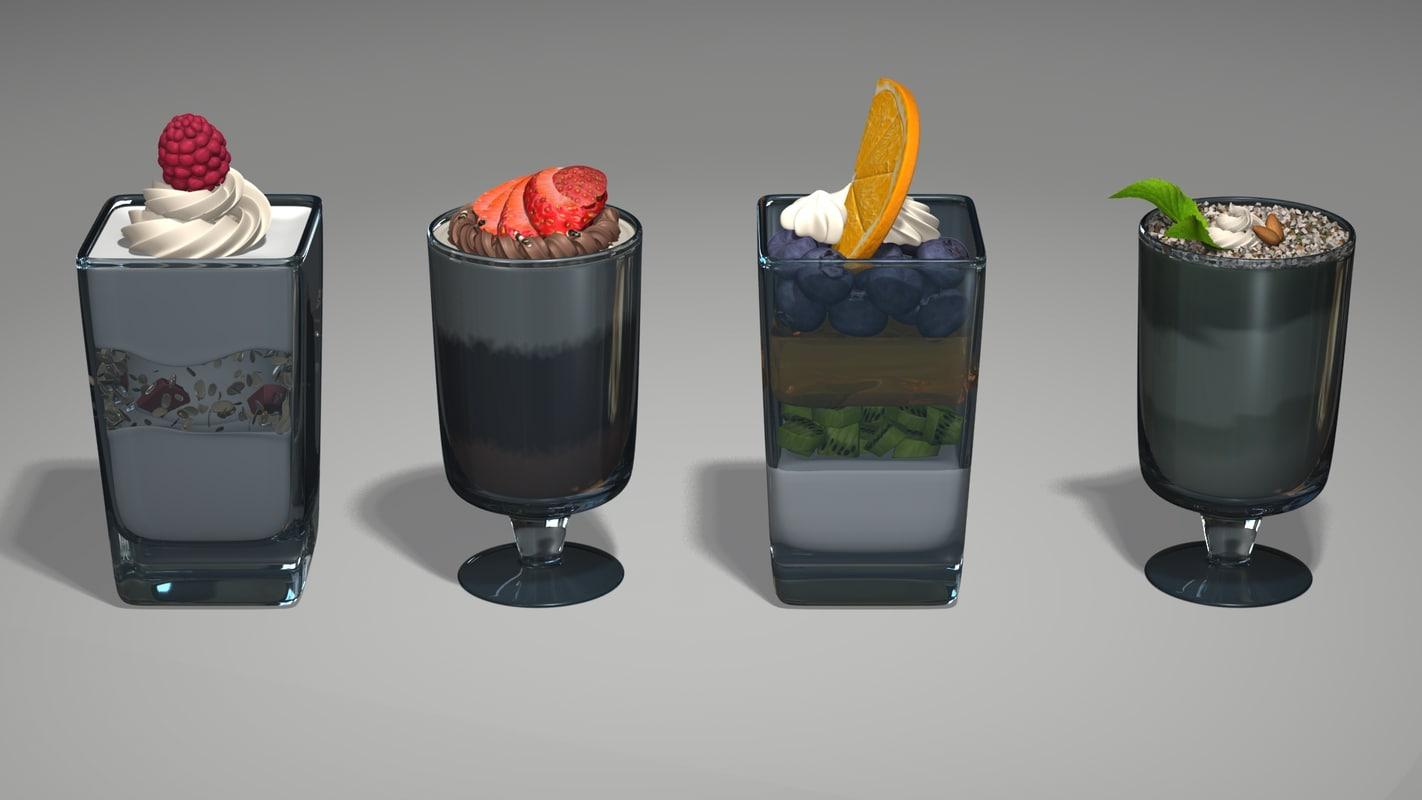 Mini Cup Desserts