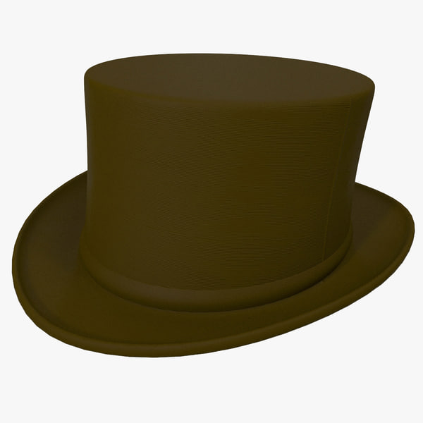 Top Hat 2 3D Models