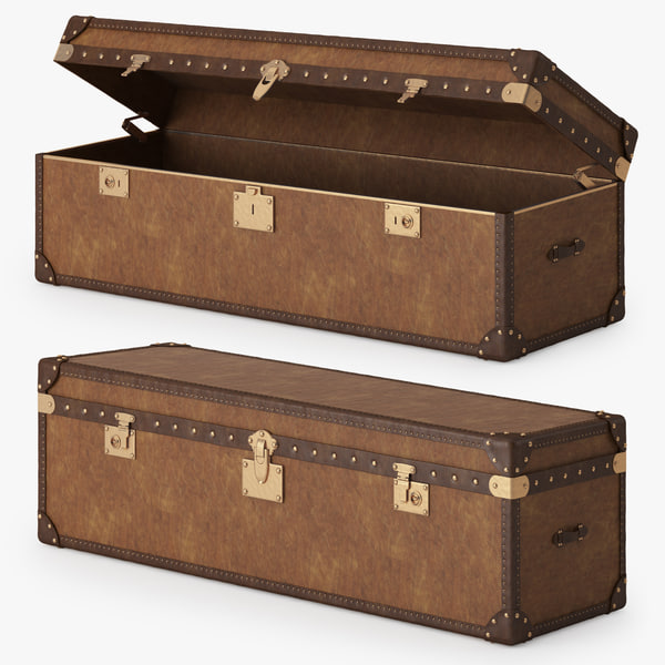 Mayfair Steamer Trunk 3D Models