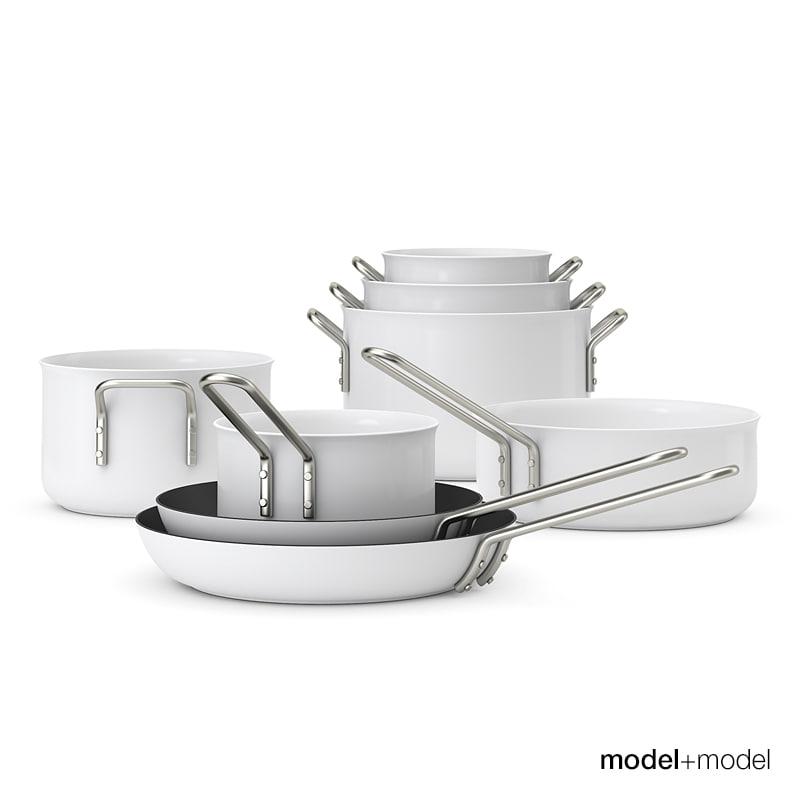 Eva Solo Trio cookware set