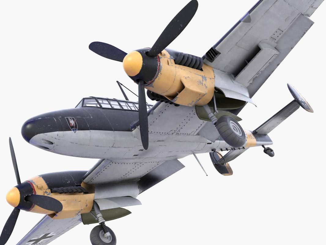 BF-110 German bomber(1)