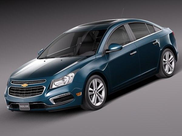 Chevrolet Cruze Sedan 2015 3D Models