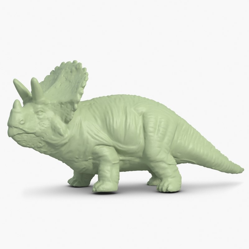 Triceratops 3D Scan