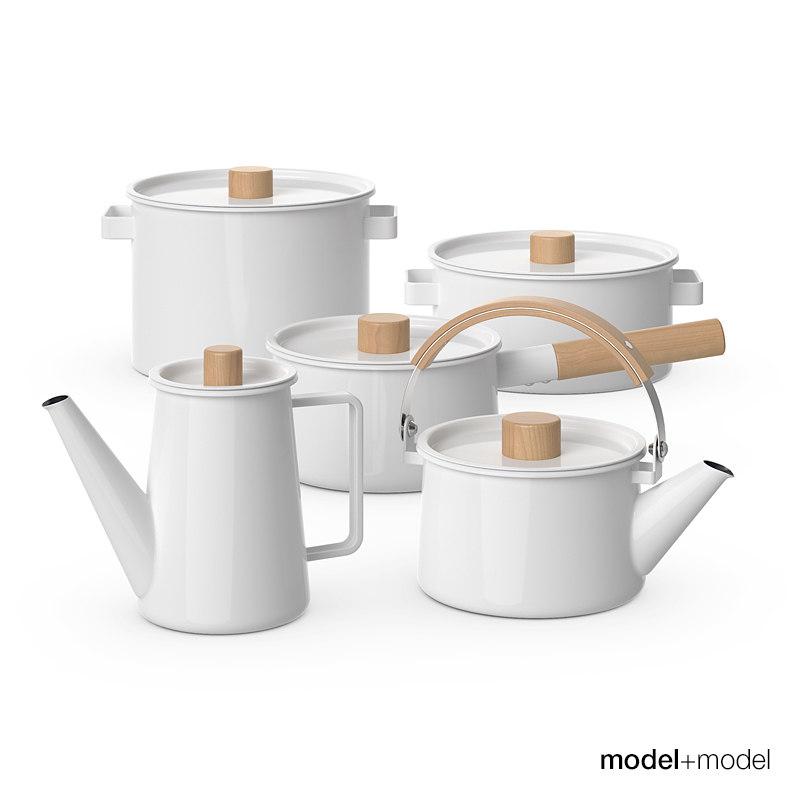 Kaico Enamel kitchenware set