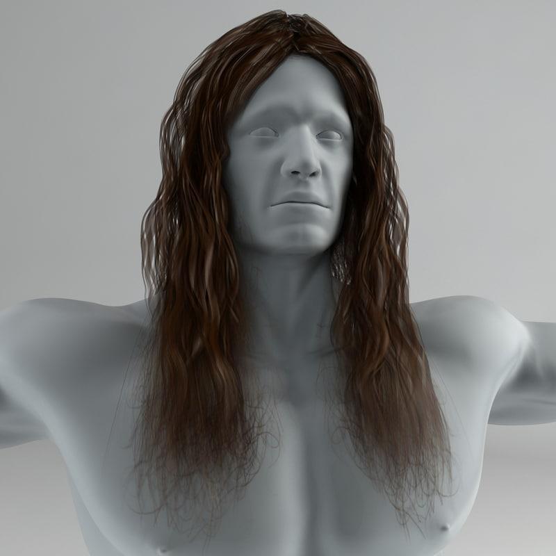Long Male/Female Hair