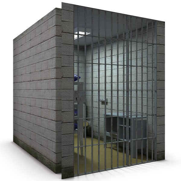 Jail Cell 3D Models