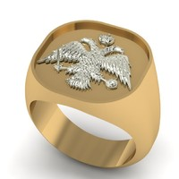 signet ring 3D models