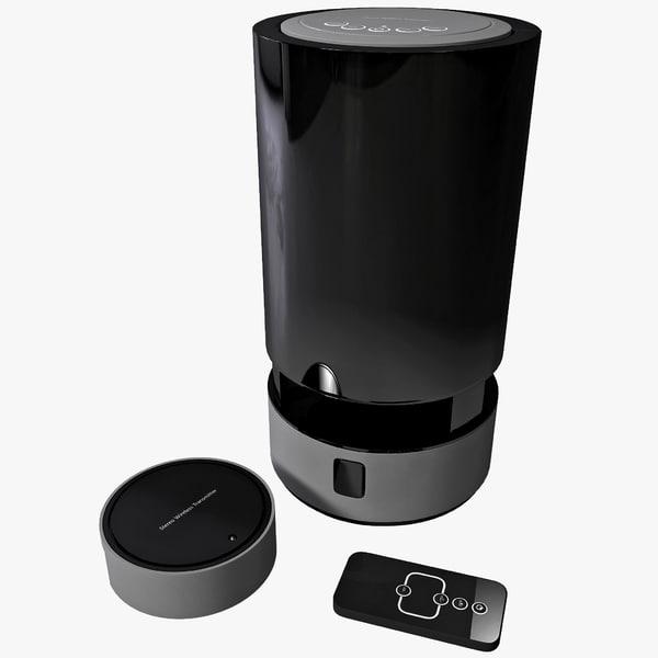 Wireless Speakers Wolverine WIOS 3D Models