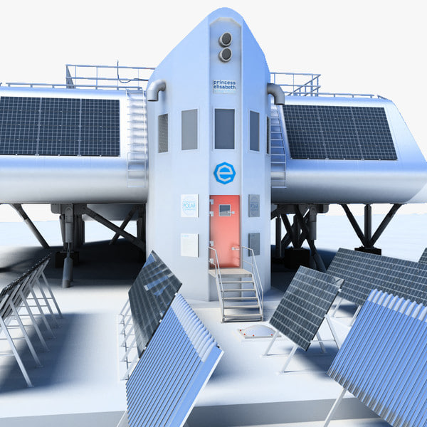 Princess Elisabeth Antarctic Station 3D Models