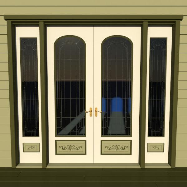Victorian Double Door 1