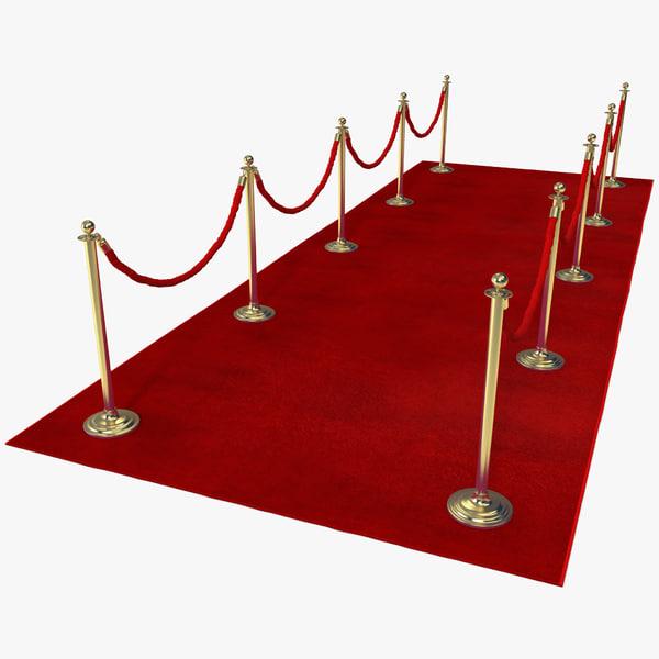 Red Carpet 3D Models
