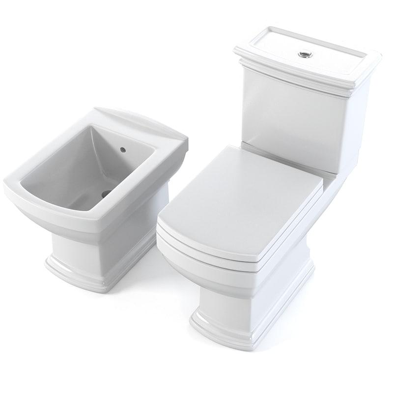 Cezares Wc Toilet & bidet