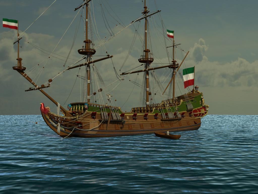 xviith sailing frigate ma