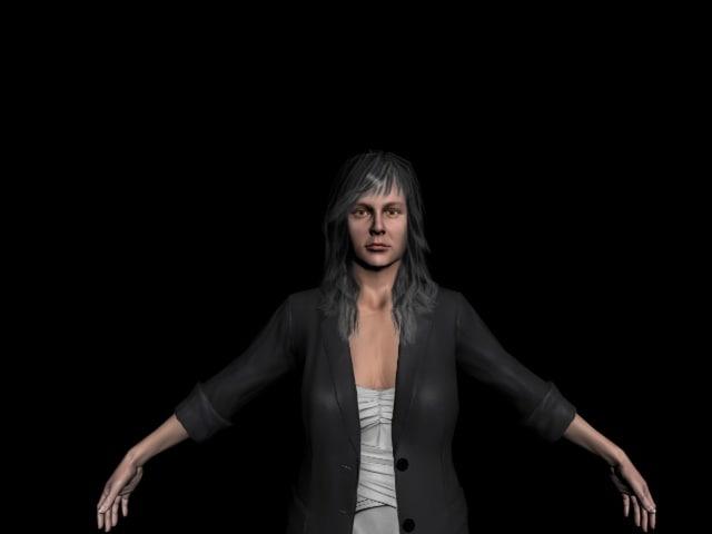Woman(Brunette)