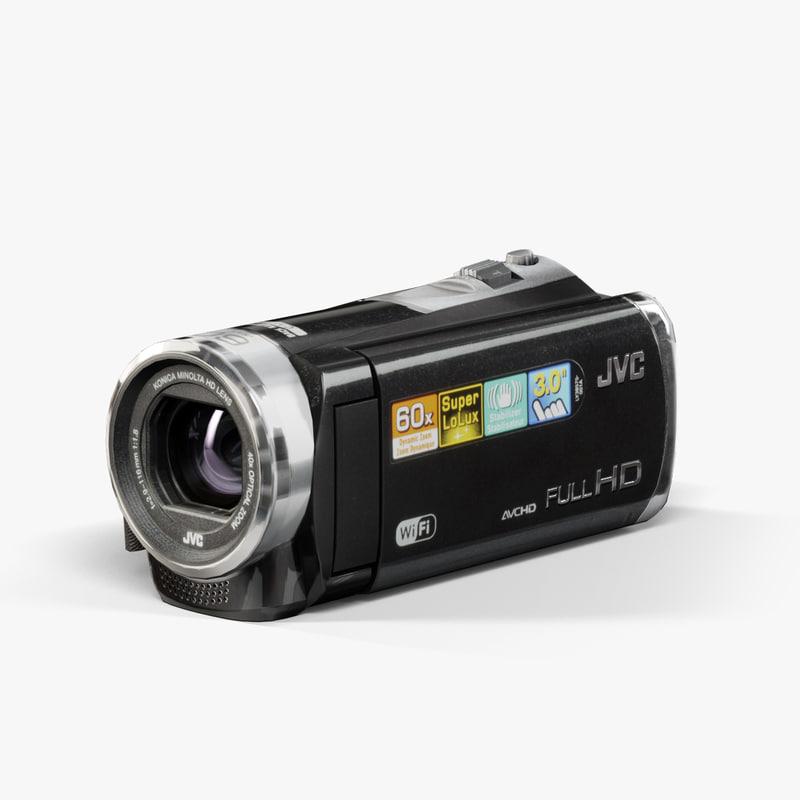 JVC EX310 Black