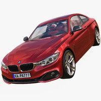 BMW 4 Series 3D models