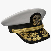 admiral hat 3D models