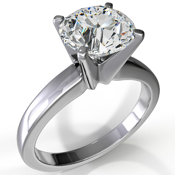 Diamond Ring 3D Models