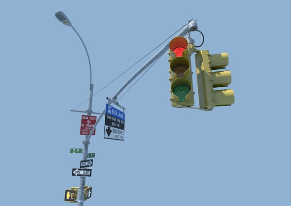 NYC Traffic Signal 3D Models