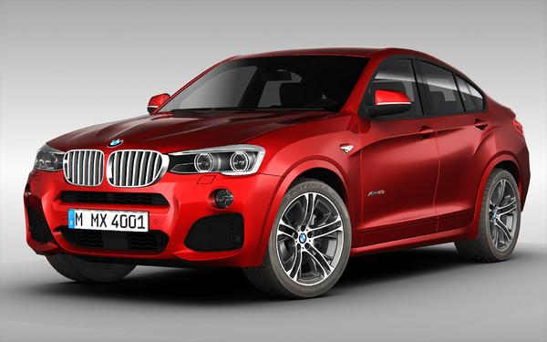 BMW X4 (2015) 3D Models