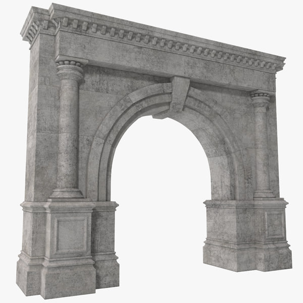 Architectural Arch 3D Models
