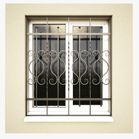window bars 3D models
