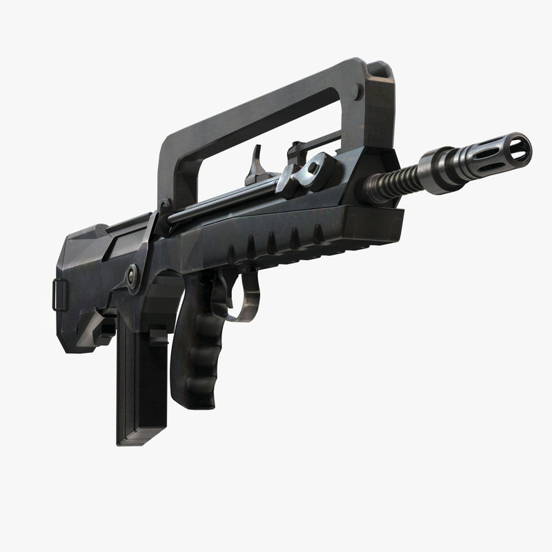 FAMAS Submachine Gun
