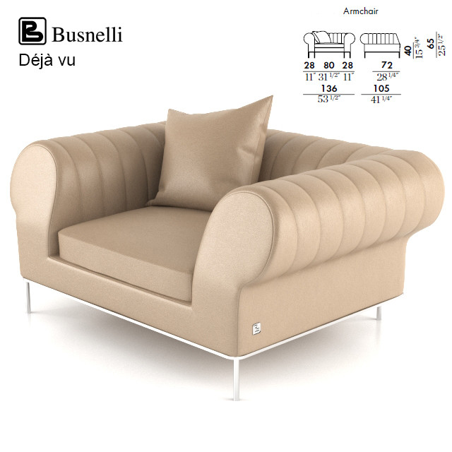 Busnelli Deja vu Sofa