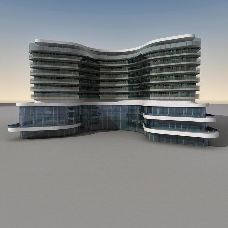 Modern Building 077