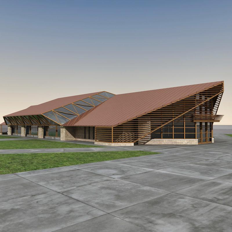 Modern Building 058
