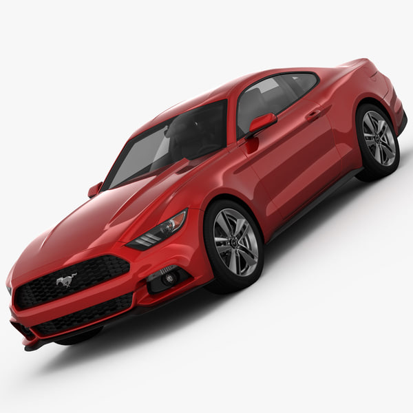 Ford Mustang 2015 3D Models