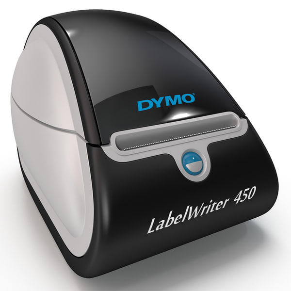 Postage and Label Printer DYMO LabelWriter 450 3D Models
