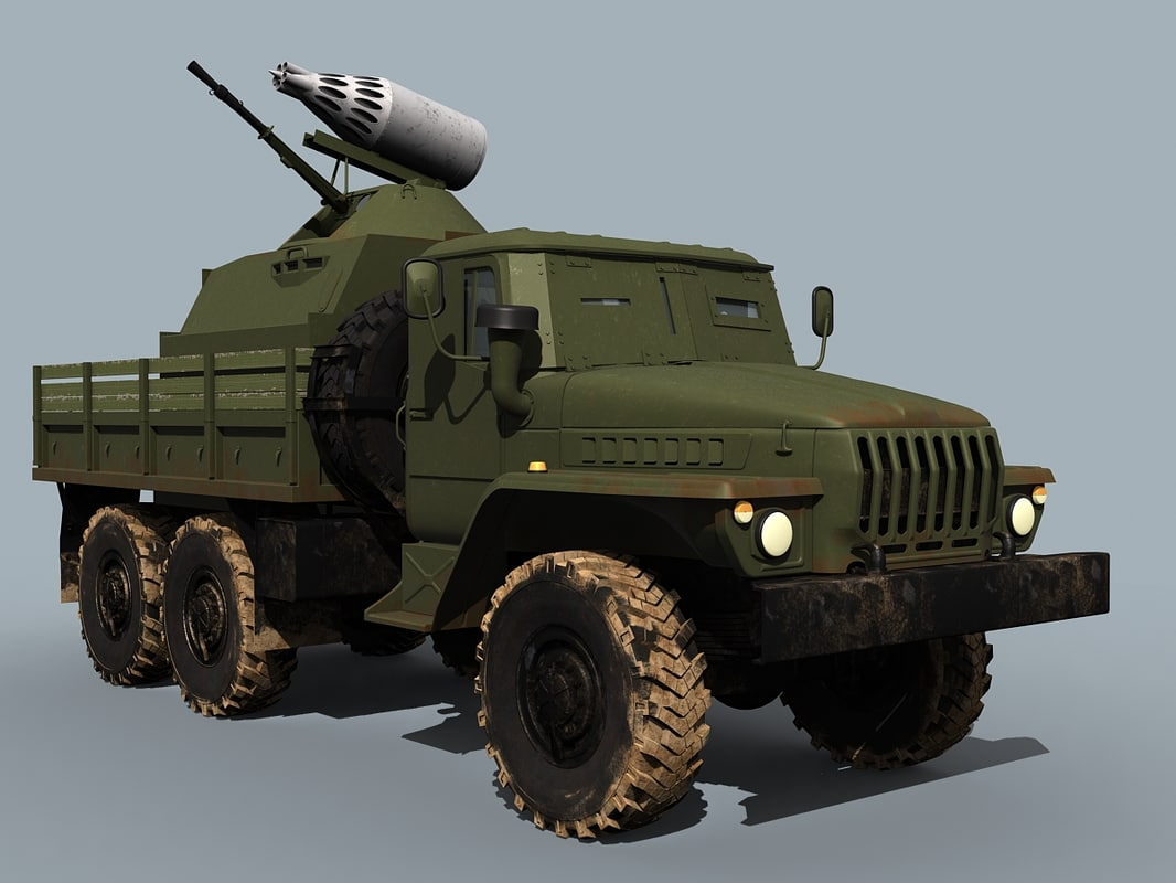 Ural-4320 Broom